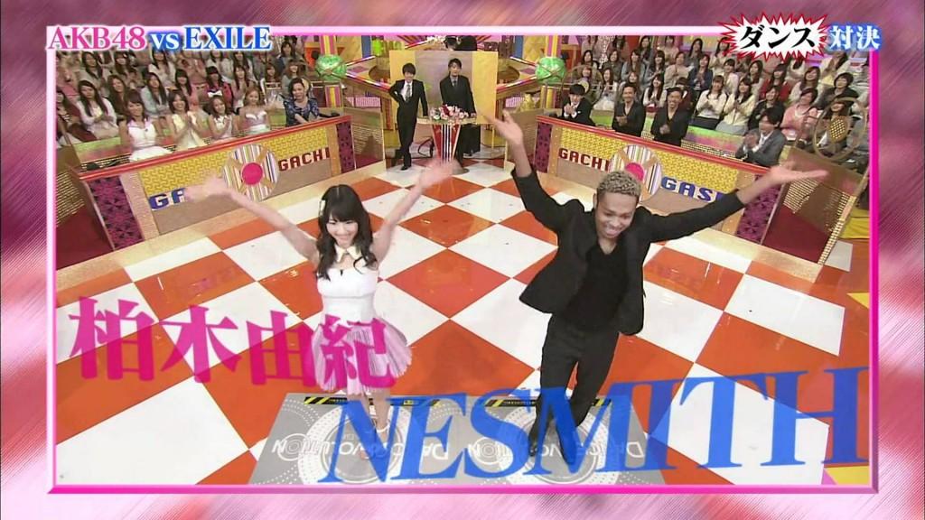 【ダンスエボリューションでダンス対決!】 AKB vs EXILE