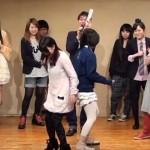 【おしりとおしりが激突!しり相撲対決】 アイドル vs 芸人