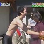 【手押し相撲対決!】 堀北真希 vs エガちゃん