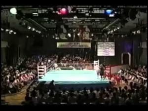 山崎vsモリマン(第4弾) 炎のファイナルリベンジマッチin後樂園ホ―ル