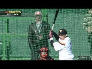 【フリーバッティング対決!】 松井秀樹 vs 井端弘和