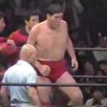 ジャイアント馬場VSスタン・ハンセン (1982.4.22 東京体育館)