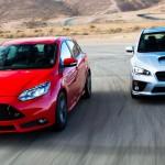 【2015新型スバルインプレッサWRX】 vs 【2014 Ford Focus ST】