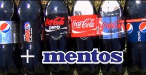 【メントスコーラ最強対決!】 メントスと一番合うコーラは?