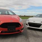 【Ford Fiesta ST】 vs 【スバルBRZ】