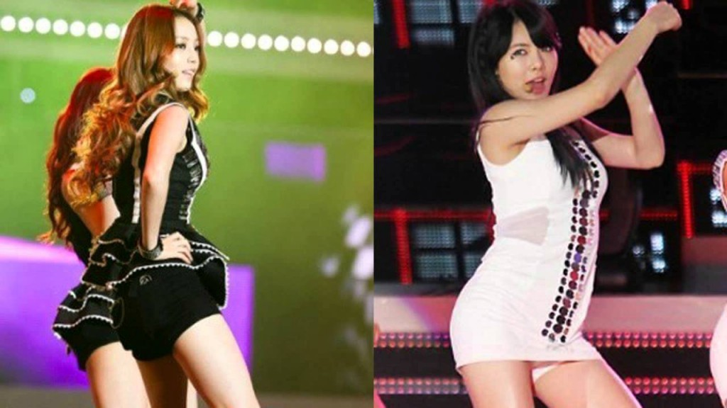 K-POPガールズグループのセクシー対決!